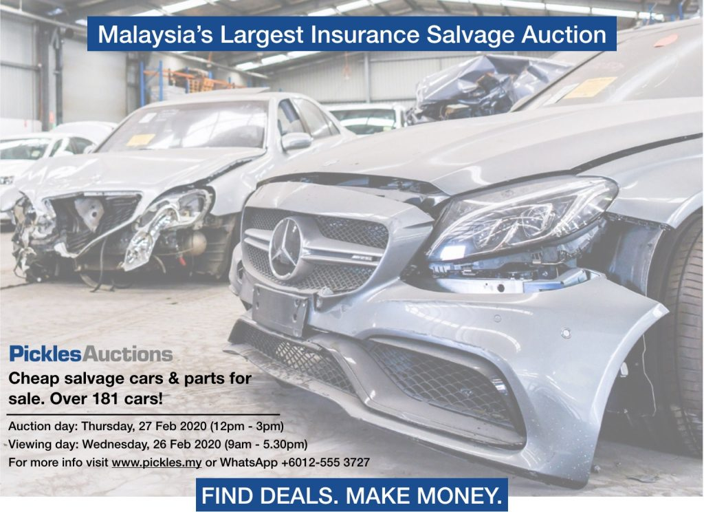Insurance Salvage Auction