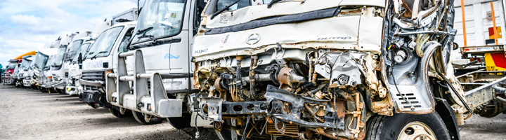 Delivery Lorries Salvage and Used